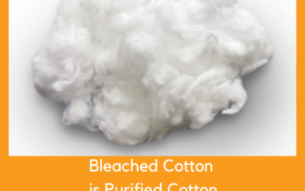 Bleached Cotton Is Purified Cotton