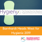 Barnhardt Heads West for Hygienix 2019
